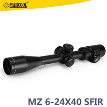 10% Discount ! DHL Free ship Hunting Scope Riflescope Of MARCOOL ALT 6-24X40 SFIRL Air Soft Rifle Scope With 11/20mm Ring Mouns(China (Mainland))