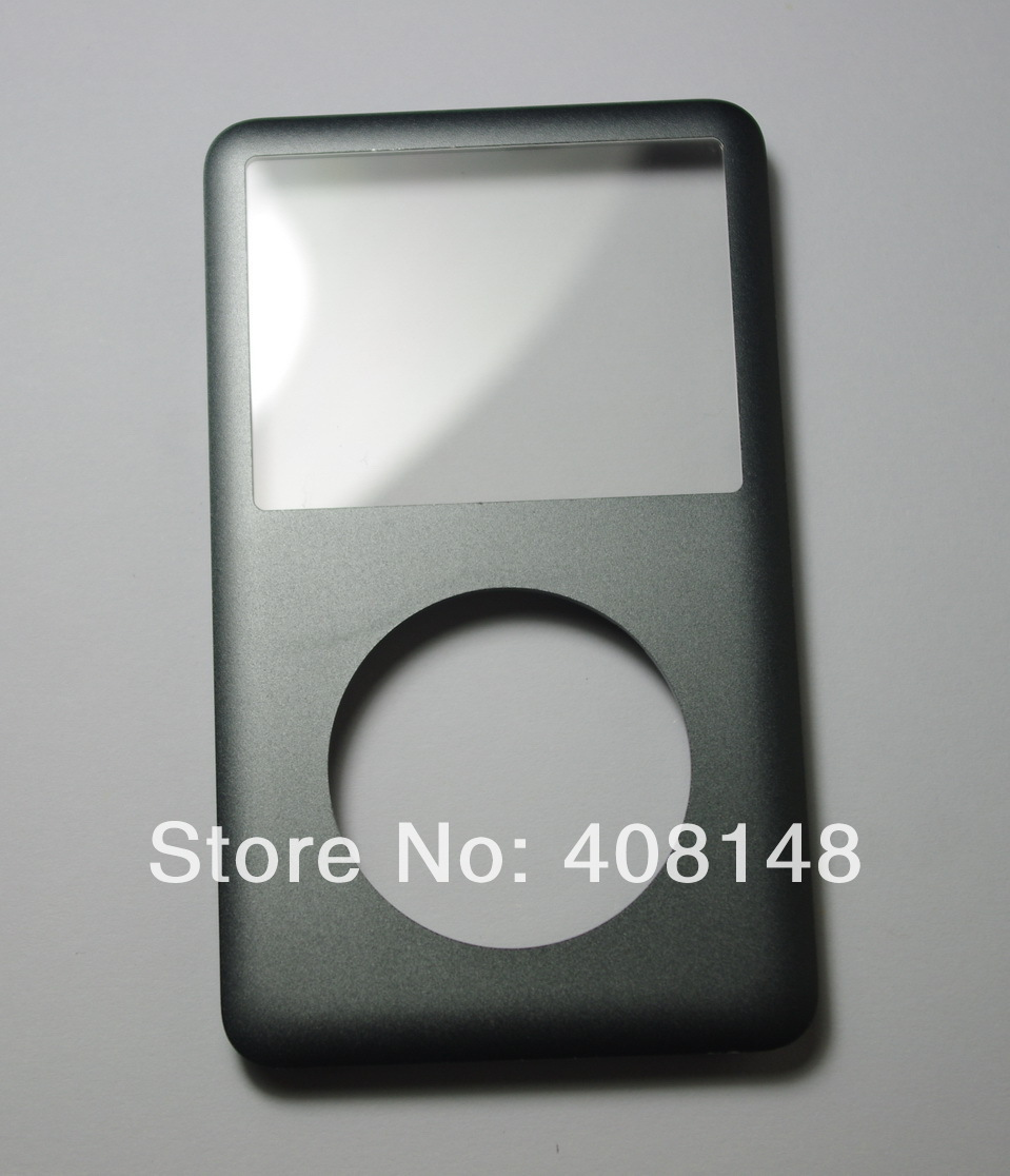 Original Front cover For iPod classic 80GB 120GB 160GB front cover faceplate Grey(China (Mainland))