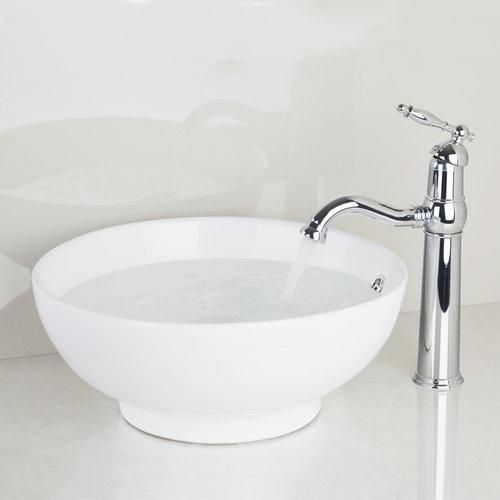 Ouboni Bathroom Sink Washbasin Ceramic Best Price Waterfall TD300697051 Lavatory Bath Combine Brass Set Faucet,Mixers &amp; Taps<br><br>Aliexpress