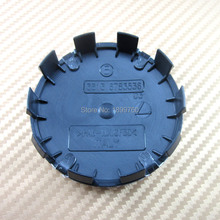 20x / lot 68 mm azul blanco Auto Car Wheel Center Hub caps borde del casquillo Logo emblema distintivo 10 pin se adapta a 1 3 6 5 7 8 Z3 Z4 M3 M5 y X3 X1 X5(China (Mainland))