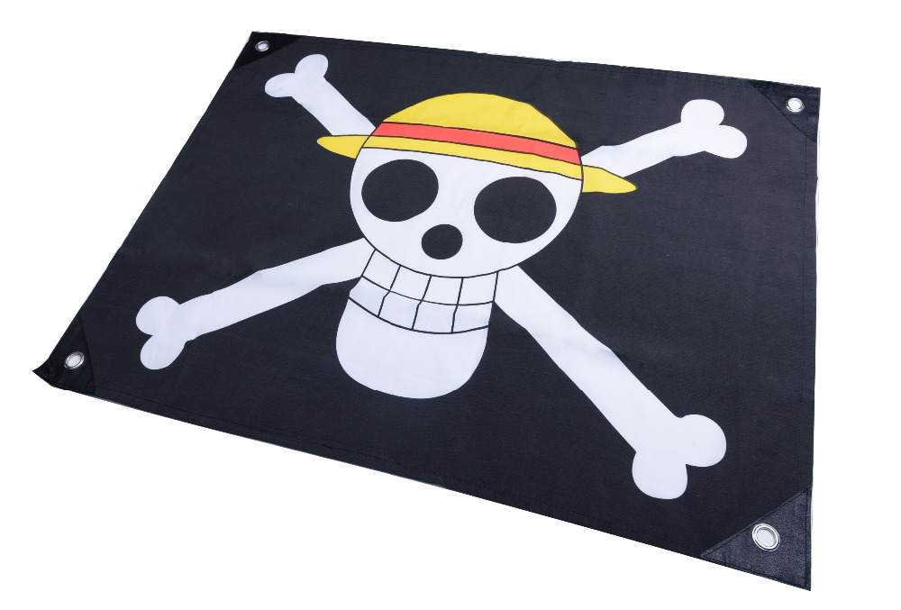 One Piece Monkey D Luffy Straw Hat Pirates Jolly Roger