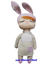 Angela rabbit dolls Metoo 12cm/35cm baby plush toy doll sweet cute stuffed toys Dolls for kids girls Birthday/Christmas Gift(China (Mainland))