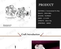Серьги из золота 18k ювелирные изделия Серьги 18k последнюю дизайн серьги для женщин очарование sxbr lgpe1009-c