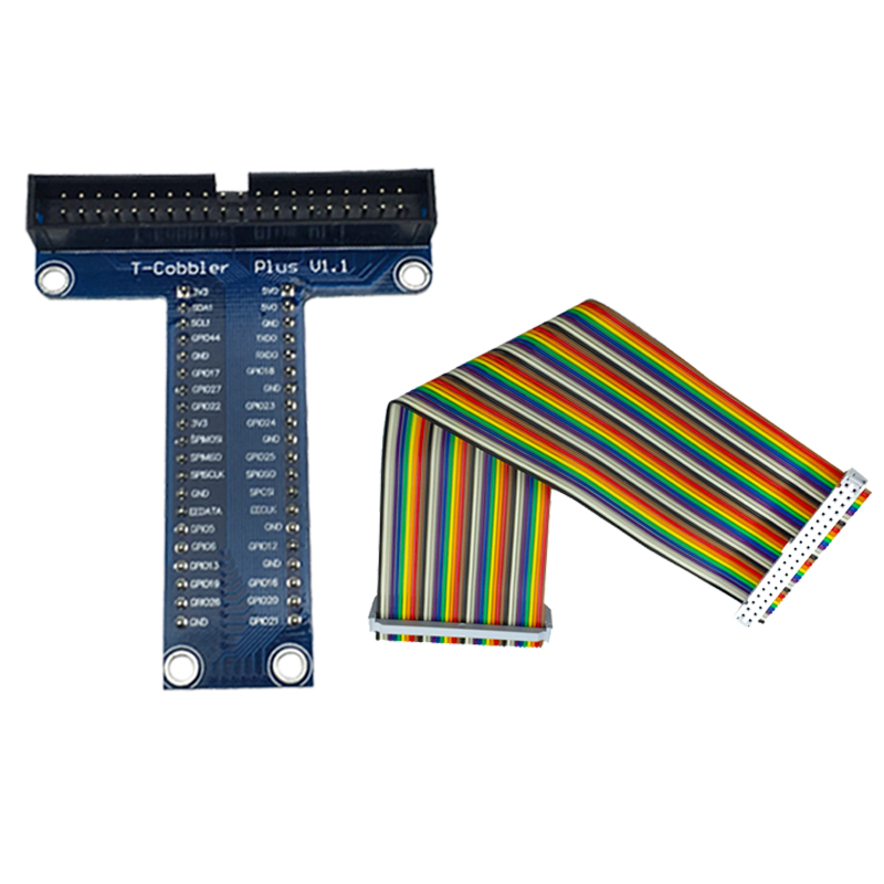 Raspberry Pi 3 40 Pin Extension Board Adapter +40 Pin GPIO GPIO Cable Line For Banana Pi M3 /Raspberry Pi 2/ For Orange Pi PC(China (Mainland))