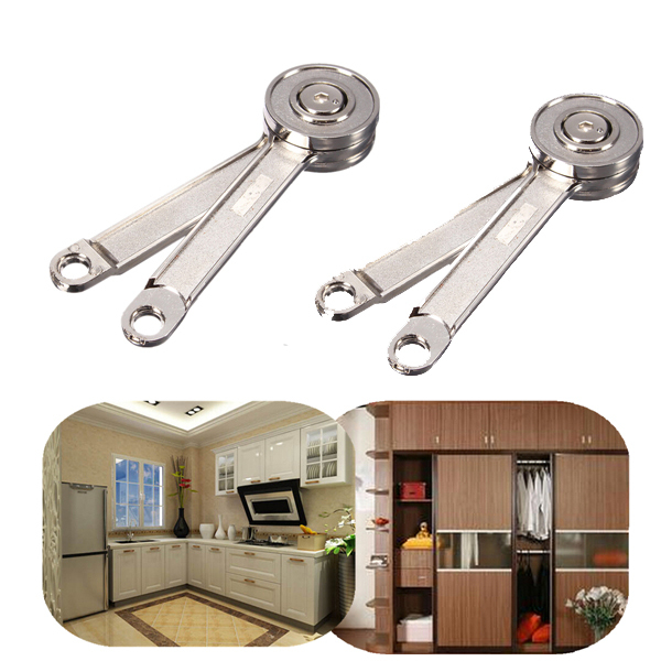 One Pair Adjustable Stays Support Toy Box Hinges Lift Up Tool for Kitchen Cupboard Cabinet Door(China (Mainland))