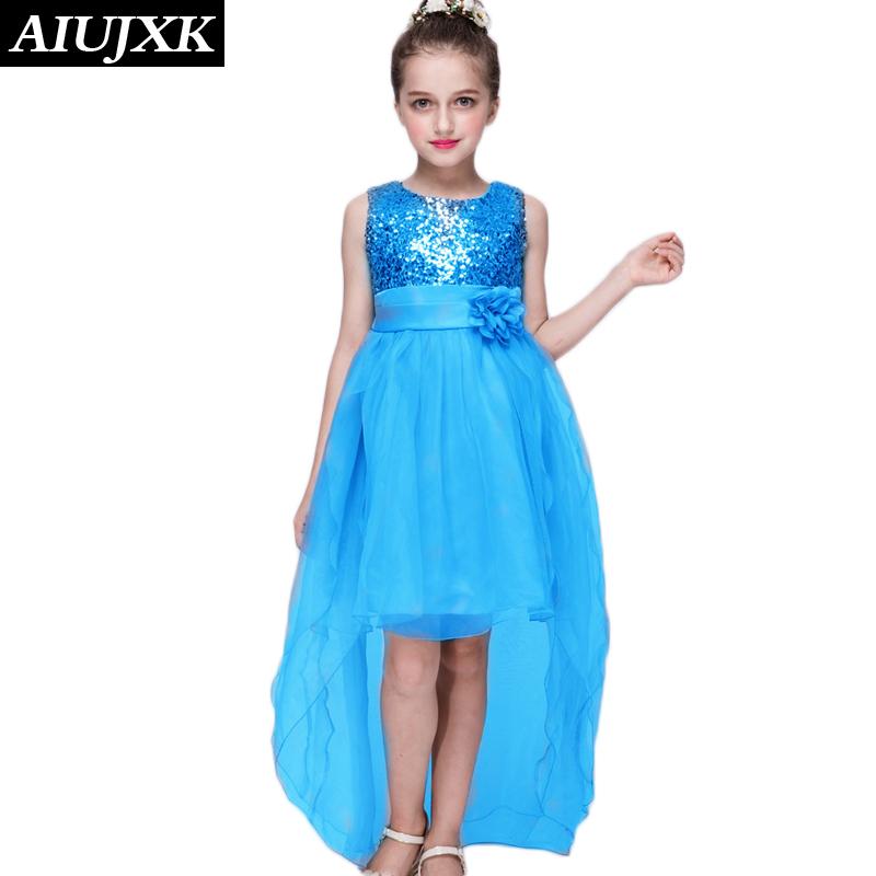 2017 Summer Latest Rosette Girl Dress Birthday Dress for Baby Girl Party Kids Clothes Flower Girl Sleeveless Dress Vincent27(China (Mainland))