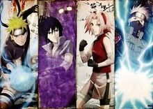 Free shipping Naruto Shippuden Japan Anime TEAM 7 Art Silk Wall Poster 24×36″ NRT35