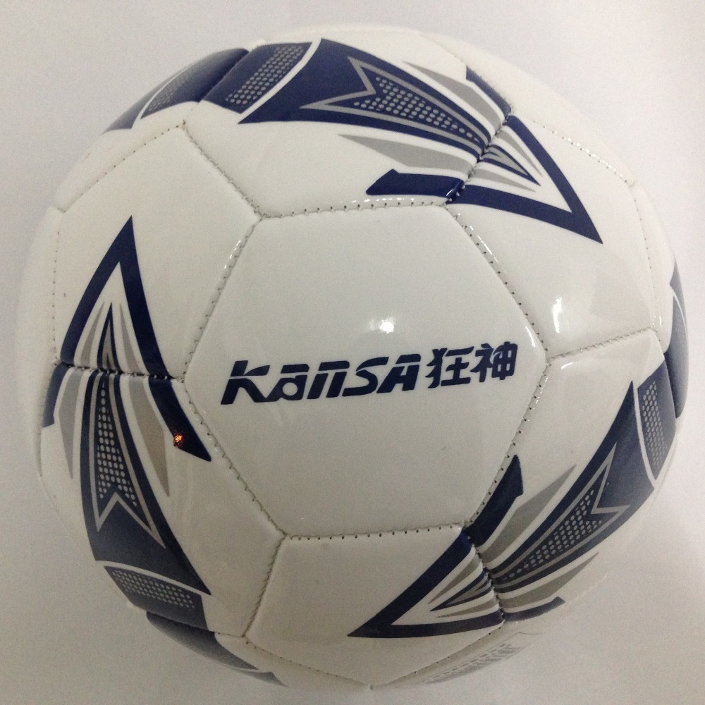 New arrivel high quanlity WORLD CUP soccer PVC size 5 football mechanical sewing ball match ball for indoor and outdoor sports(China (Mainland))