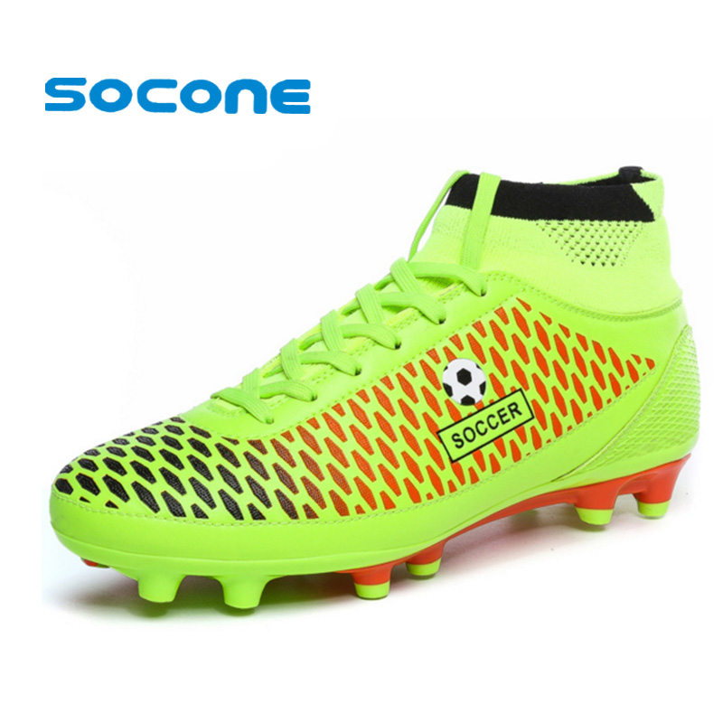 Mens <font><b>Soccer</b></font> Boots Cleats Long Spikes FG Men Football Boots Outdoor Training <font><b>Soccer</b></font> <font><b>Shoes</b></font> Chuteira Futebol Nice Football <font><b>Shoes</b></font>
