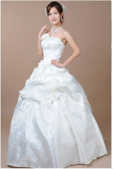 2012 new wedding dress is super pretty and sweet fairy tale princess bride wedding dress-W2