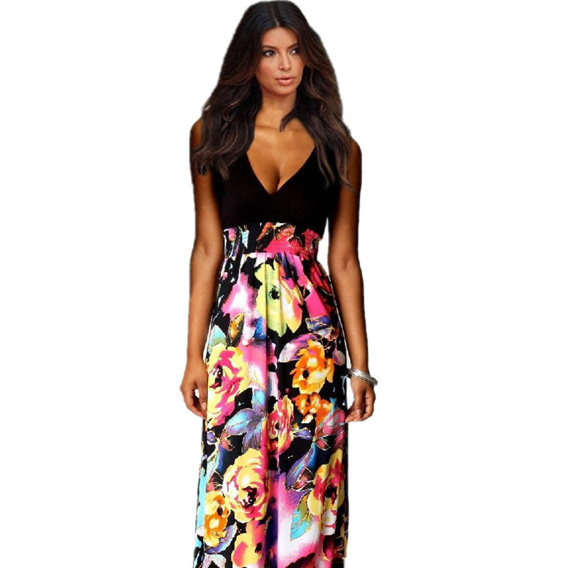 Cheap Boho Clothing Online Summer Maxi Dresses New