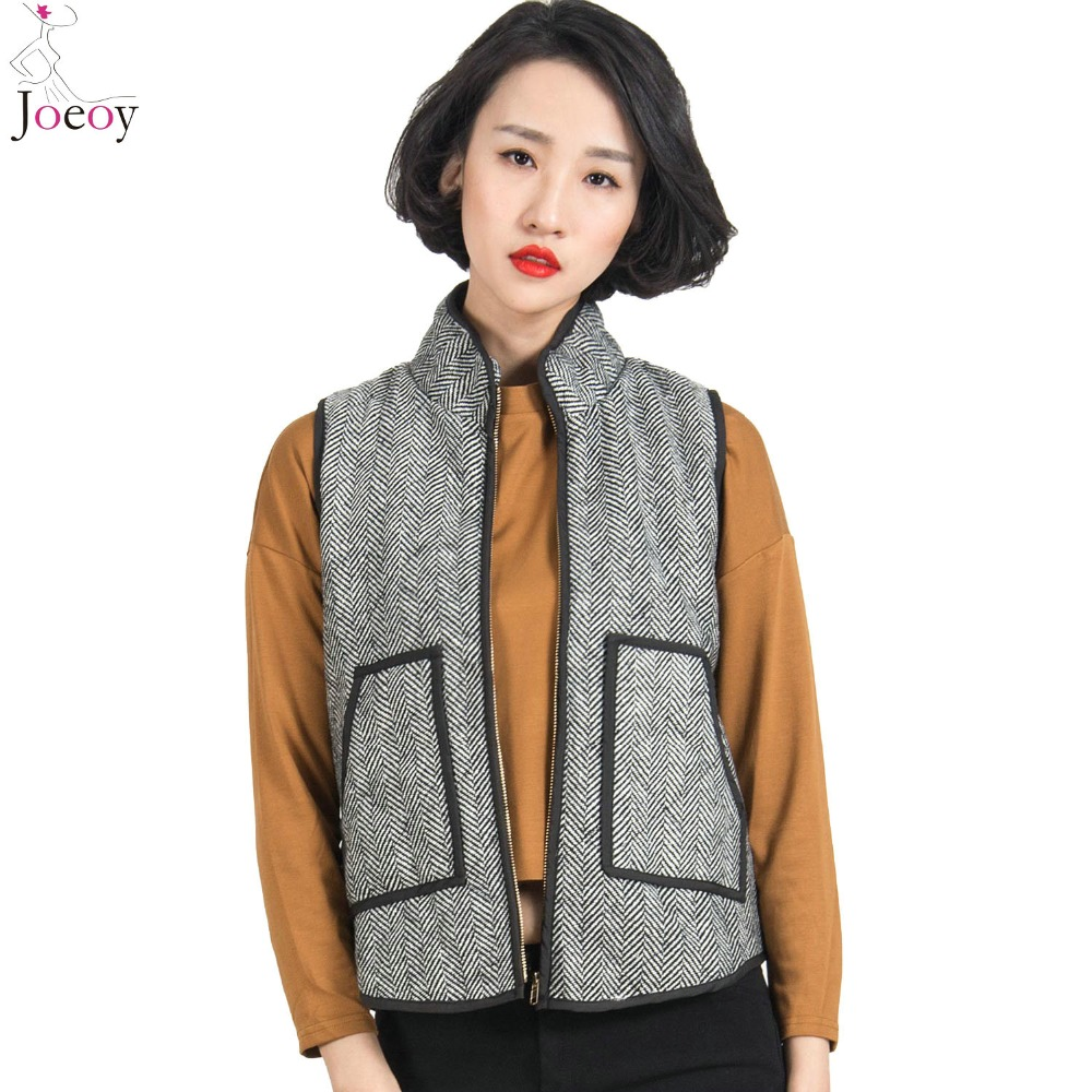 Designer Inspired Herringbone Quilted Cotton Puffer Vest Small-Xlarge 2015 Spring New Arrival BestsellerОдежда и ак�е��уары<br><br><br>Aliexpress