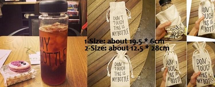 Мода бутылка 500 мл пластиковые Открытый спорт фруктовый сок бутылку воды лимонный Кубка падение судоходство hg-1572