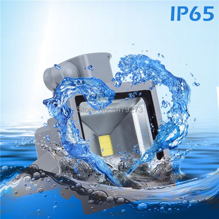 Гаджет  Fast Ship In 24 Hours 10W 20W 30W 50W  PIR LED Outdoor Floodlight Warm / Cold White Waterproof IP65 Motion Sensor Landscape Lamp None Свет и освещение