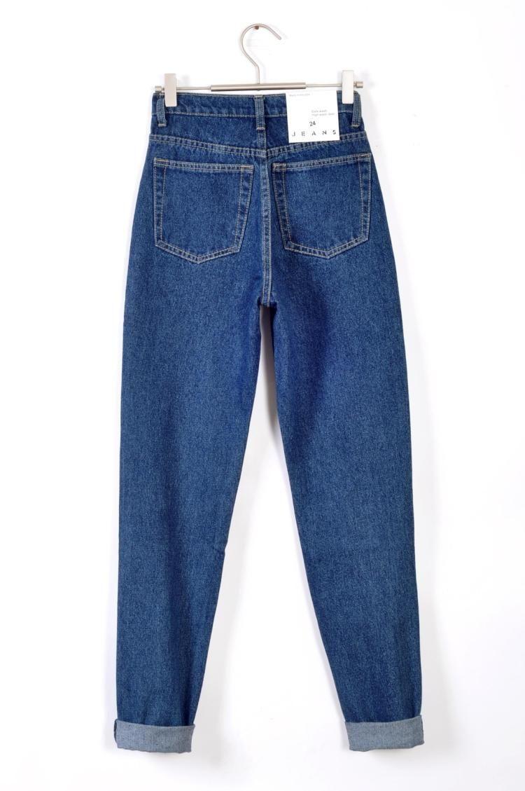 Скидки на Американский одежды улица мода леди ретро высокой талией джинсы бойфренд джинсы для женщин Большой размер шаровары 32 33 34