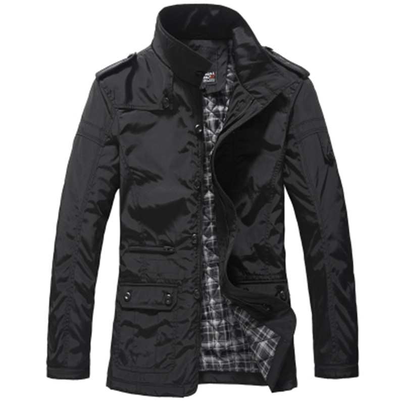 men jacket men's coat fashion clothes hot sale autumn overcoat outwear spring winter Free shipping wholesale retail collar brand(China (Mainland))