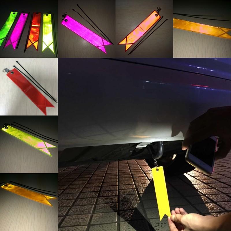Новые бампер автомобиля трейл-камеры стикер светоотражающие статья предотвратить автокатастрофа массивные скопления LFWS тела отражающей предупреждение литье