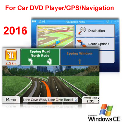 8GB Micro SD Card Car GPS Navigation 2016 Map software for Europe,Italy,France,UK,Netherland,Spain,Turkey,Germany,Austria etc.(China (Mainland))