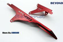 Cnc алюминий цепь углозащитные крышка протектор красный для Yamaha MT-09 -, Mt-09 трассирующими-отправитель