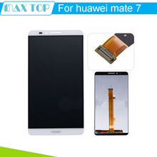 For Huawei Mate 7 LCD Display+Touch Screen Original Assembly Replacement For Ascend MATE 7 Phone 3 Colors(China (Mainland))