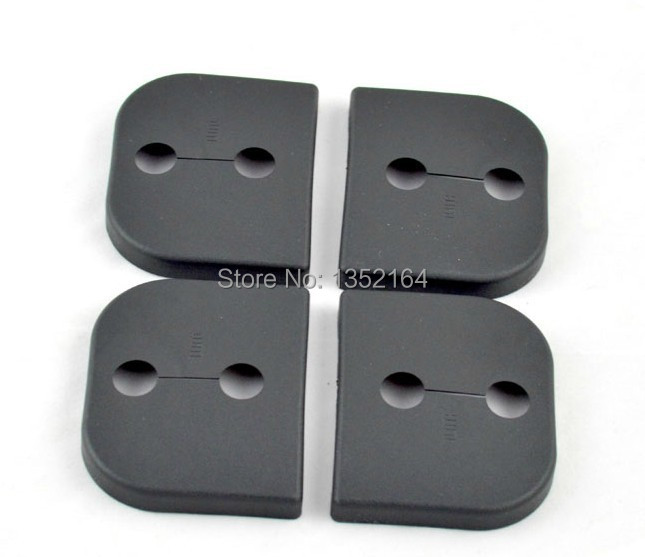 Auto door lock buckle cover,shock absorber pad for geely GX7, SX7,suzuki SX4,swift,4pcs/lot,free shipping(China (Mainland))
