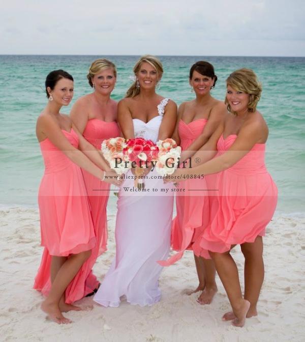 Chiffon short bridesmaid dresses cheap fast ship wedding party dress