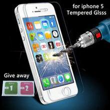 Защитное стекло для iphone5s стекло экрана протектор 0.26 мм для iPhone 5 закаленное стекло для iPhone 5 5S