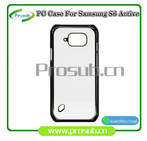 China cheap sublimation heat transfer phone cases cover for s6 active(China (Mainland))