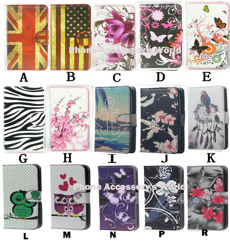 For LG Spirit 4G LTE H420 H422 H440N C70 Cases Flip lovely Whit Butterfly Flower UK US Luxury Leather Phone Case Skin Cover(China (Mainland))