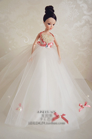 Autonomous design handmade Items For Ladies Doll Equipment Night Go well with Wedding ceremony Costume Garments For Barbie Doll BBI00508