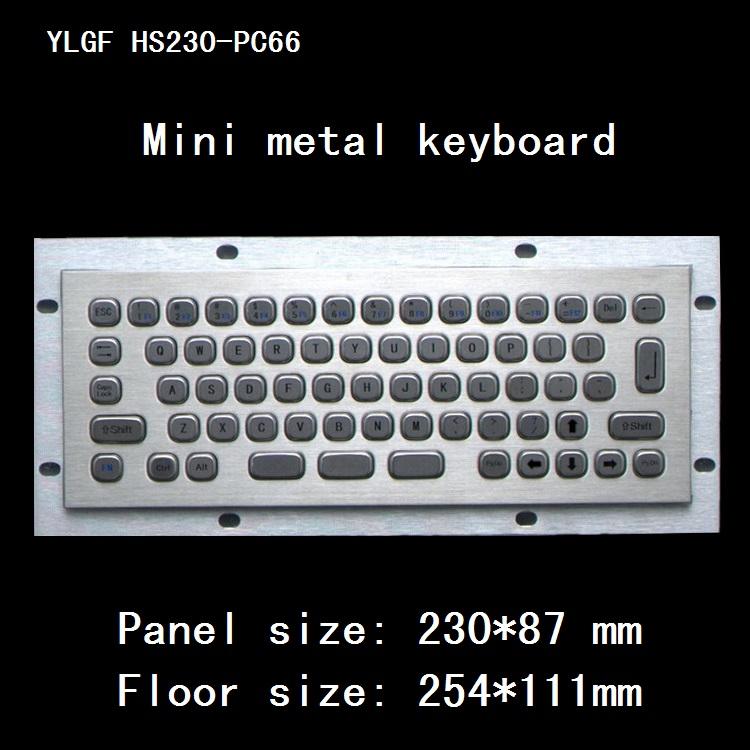 Metal Keyboard Ylgf Usb Interface Embedded Keyboard Waterproof Ip65 Dust Anti Violence Stainless Steel Ring Stainless Steel(China (Mainland))