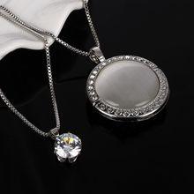 טבעי אבן חתול העין CZ שרשרת זהב כסף מצופה שרשרת תליון שרשראות סיטונאי אישה הצהרת שרשרת משלוח חינם(China)