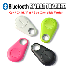 2015 Hot Smart Tag Anti-lost Bluetooth Tracker Child Bag Pet Wallet Key Finder GPS Locator Alarm 4 Colors With Battery