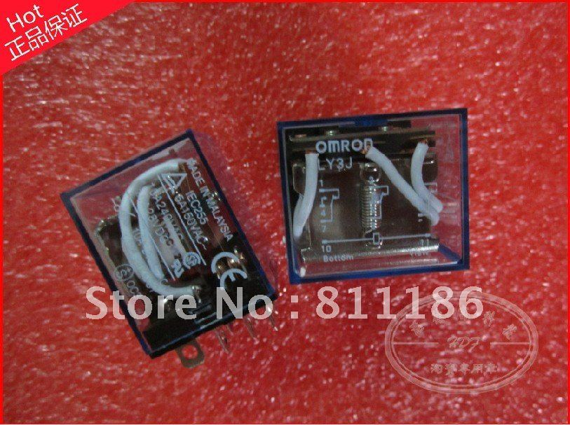 10pcs/lot OMRON LY3J auxiliary relay  is new , in stock.<br><br>Aliexpress