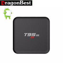 Buy 10pcs Original T95M Amlogic S905X Quad Core 1GB 8GB Android TV Box 2.4G Wifi 2K&4K HDMI 2.0 Miracast DLNA Preinstalled for $379.88 in AliExpress store