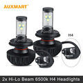 Auxmart H4 CREE Chips Hi Lo beam LED headlight bulbs 60W 4400LM 6500 3000 4300 6500