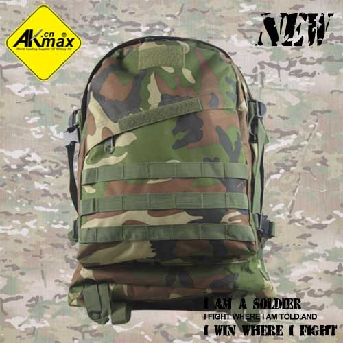 AKMAX men's backpack Olive 600D Oxford military 3D assault pack army tactical 45L - Fashionoutdoor Industry Co.,Ltd store