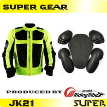 Protective Gears  Protective Jacket Sports Protection Motorcycle Racing Reflective Jacket With Lining Winter Jacket Protector