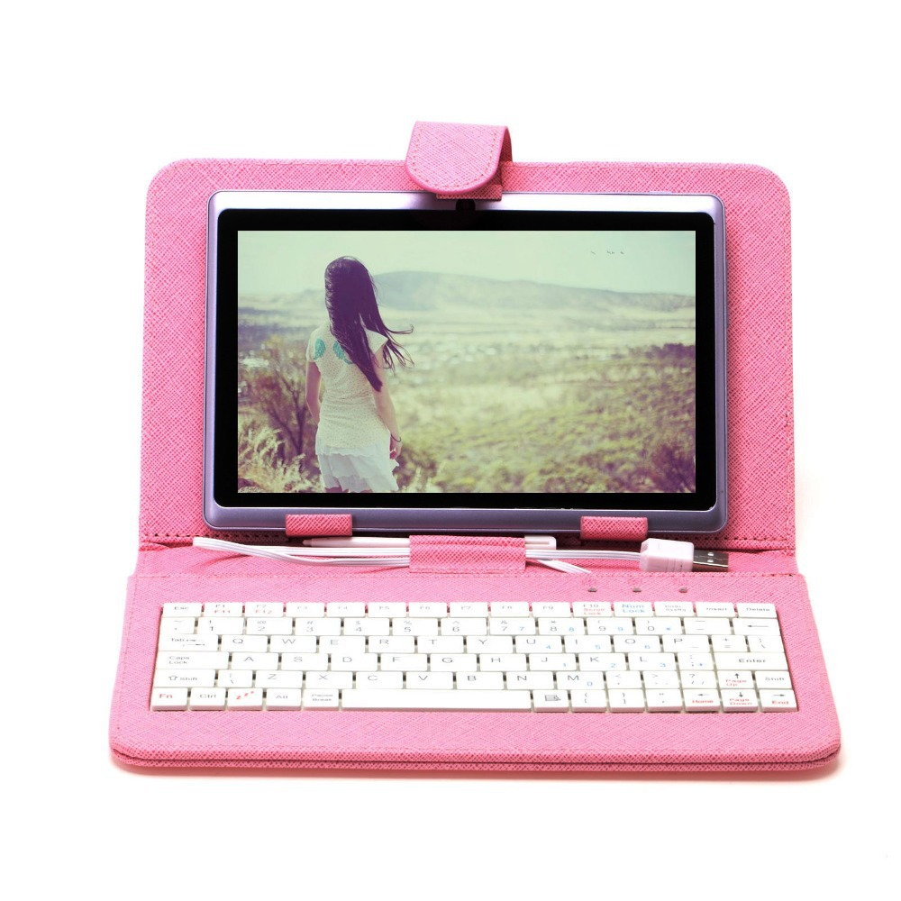 IRULU X1 7'' Android Tablet PC 16G ROM Dual Core Cams 3G External Cheap Internet Tablet with Keyboard Case 2015 New Arrival Hot(China (Mainland))
