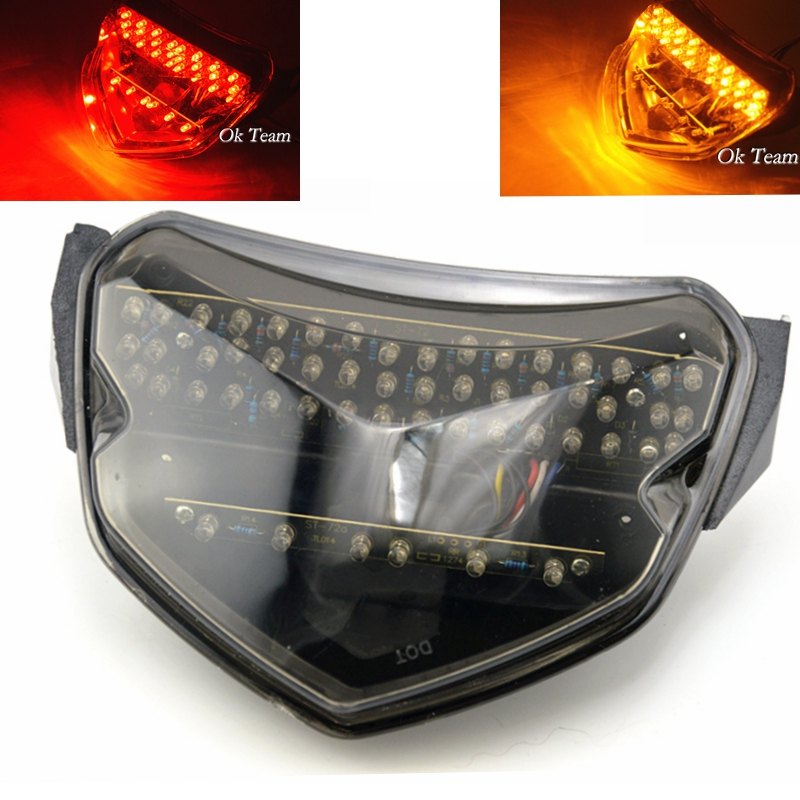 Motorcycle LED Tail Light With Turn Signals for GSXR 600 750 K4 2004-2005 motorcycle turn lights(China (Mainland))