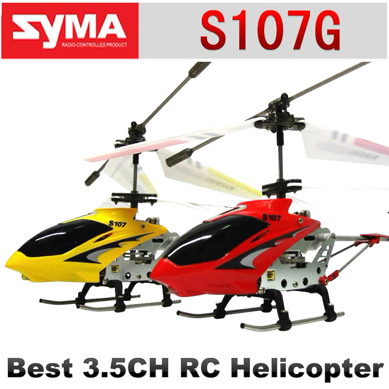 22cm SYMA S107G S107 mini metal 3.5CH RC helicopter model toys with gyro radio control remote control toys NSWB(China (Mainland))
