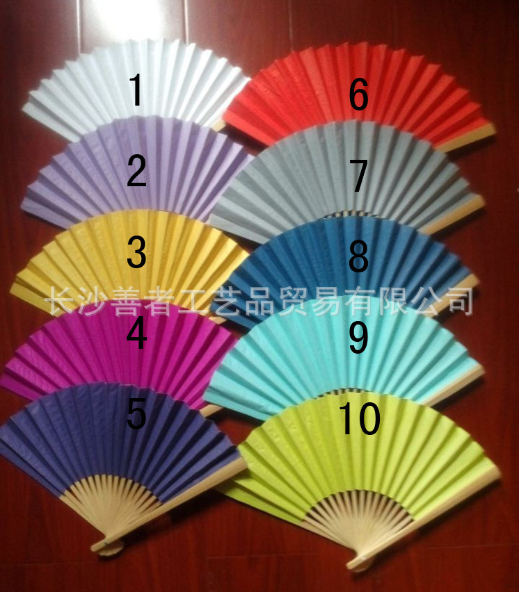 2015 Brand New 100Piece/Lot Folding Wedding Silk Fan Personalized Wedding Favors For Guests 18 color fedex or DHL free shiping(China (Mainland))
