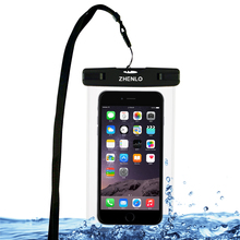 100%sealed waterproof phone case bag for iphone 6s 6 plus 5s, for Samsung S6,S7, fit for siwmming,underwater photo,free shipping(China (Mainland))