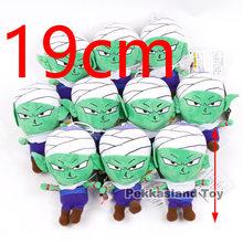Dragon Ball Z Figuras Boneca de Pelúcia Son Goku Super Saiyan Deus, Buu, Vegeta, piccolo Figura de Pelúcia Macia Boneca Brinquedos Modelo 10 pçs/lote(China)