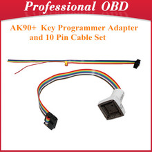 AK90+ Key Programmer Adapter and 10Pin Cable Set(Hong Kong)