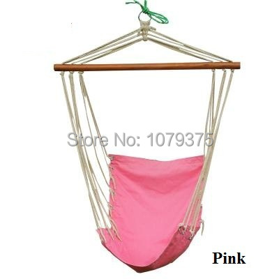 Canvas hammock hanging chair patio swing outdoor Rock