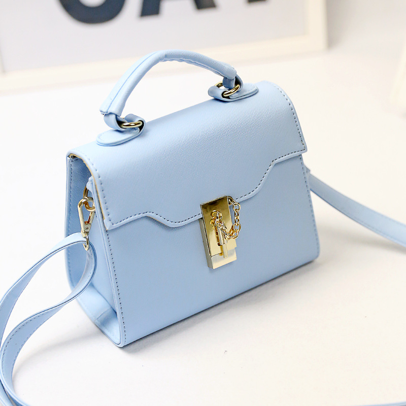 Korean version 2016 new female diagonal portable baodan shoulder handbags the fashion pack women handbag
