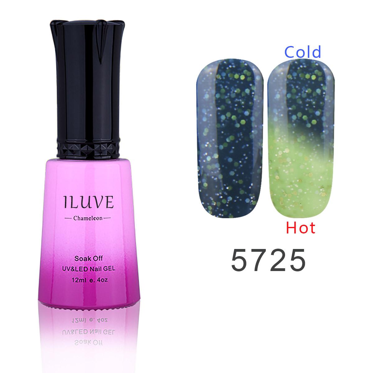 iluve led uv nail soak uv nail gel temperature change color gel nail gel salon
