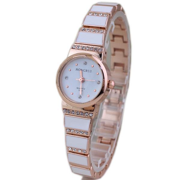 Luxury Rhinestone Scale Quartz Watch Women 2016 Fashion Brand Watch Stainless Steel Bracelet Wristwatch Jewelry Clock Women(China (Mainland))