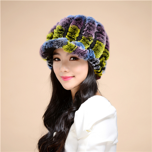 fashion 2014 fur hat otter rabbit hair female han edition cap baotou - Standing proudly snow store